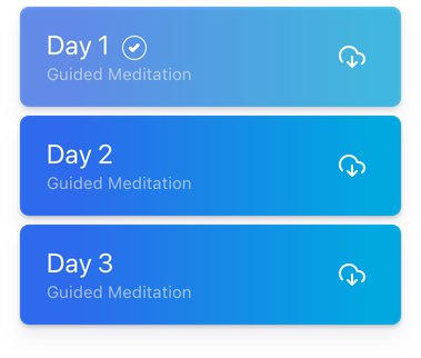 Guided Meditation List