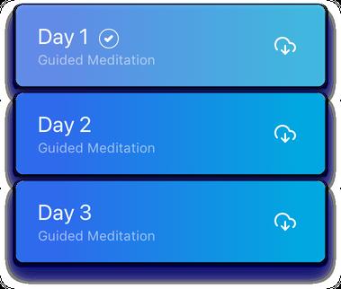 Guided Meditation List