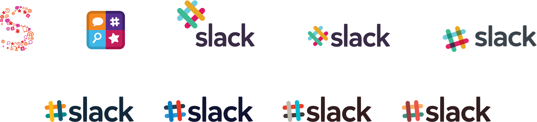 Slack logos