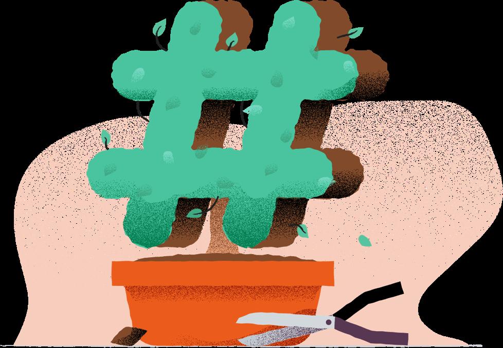 Slack logo plant