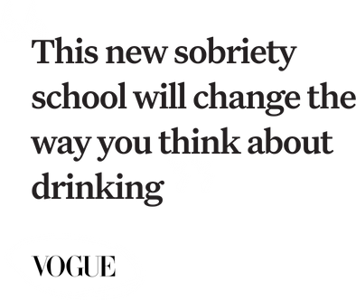 This new sobriety school will change the way you think               about drinking